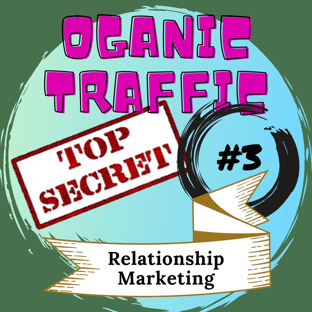 picture of Oganic Traffic top secret 3