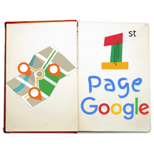 picture of the 1st page google book