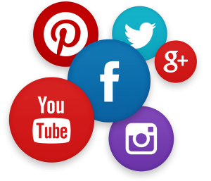 picture of social media management logos