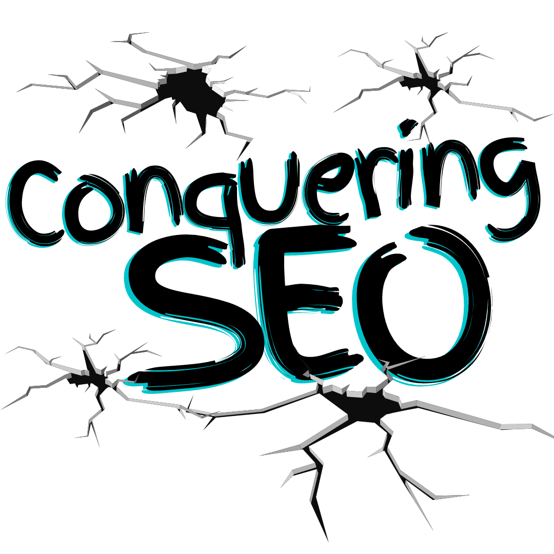 picture of conquering seo logo cracked