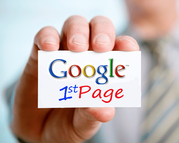 How to get on the first page of google in 24 hours