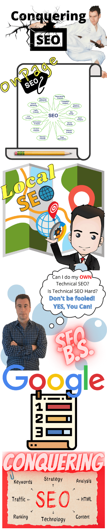 picture of collage of seo services