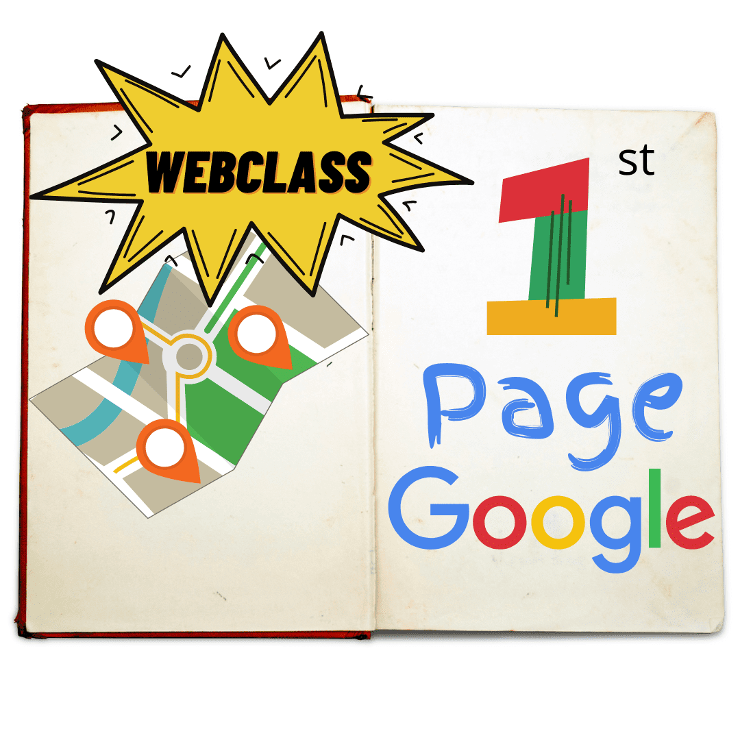 picture of 1st page of google webclasses
