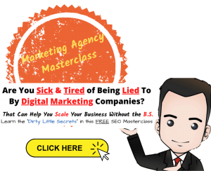 picture of the agency Masterclass ad poster