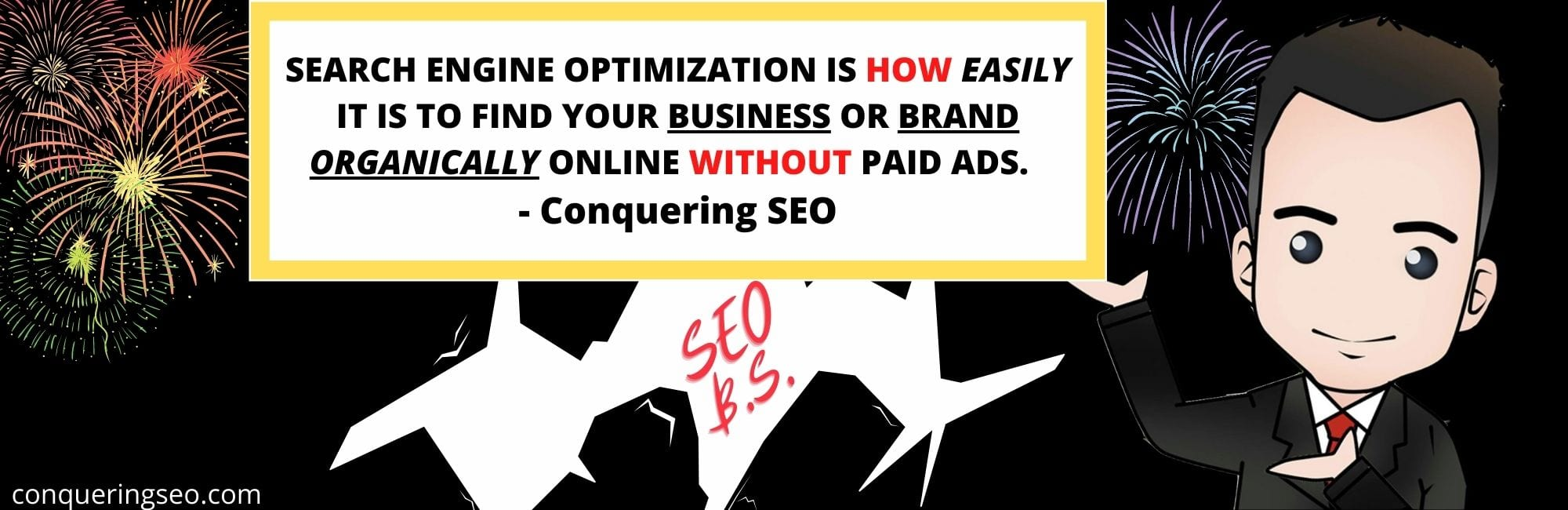 picture of What SEO Means by conquering seo