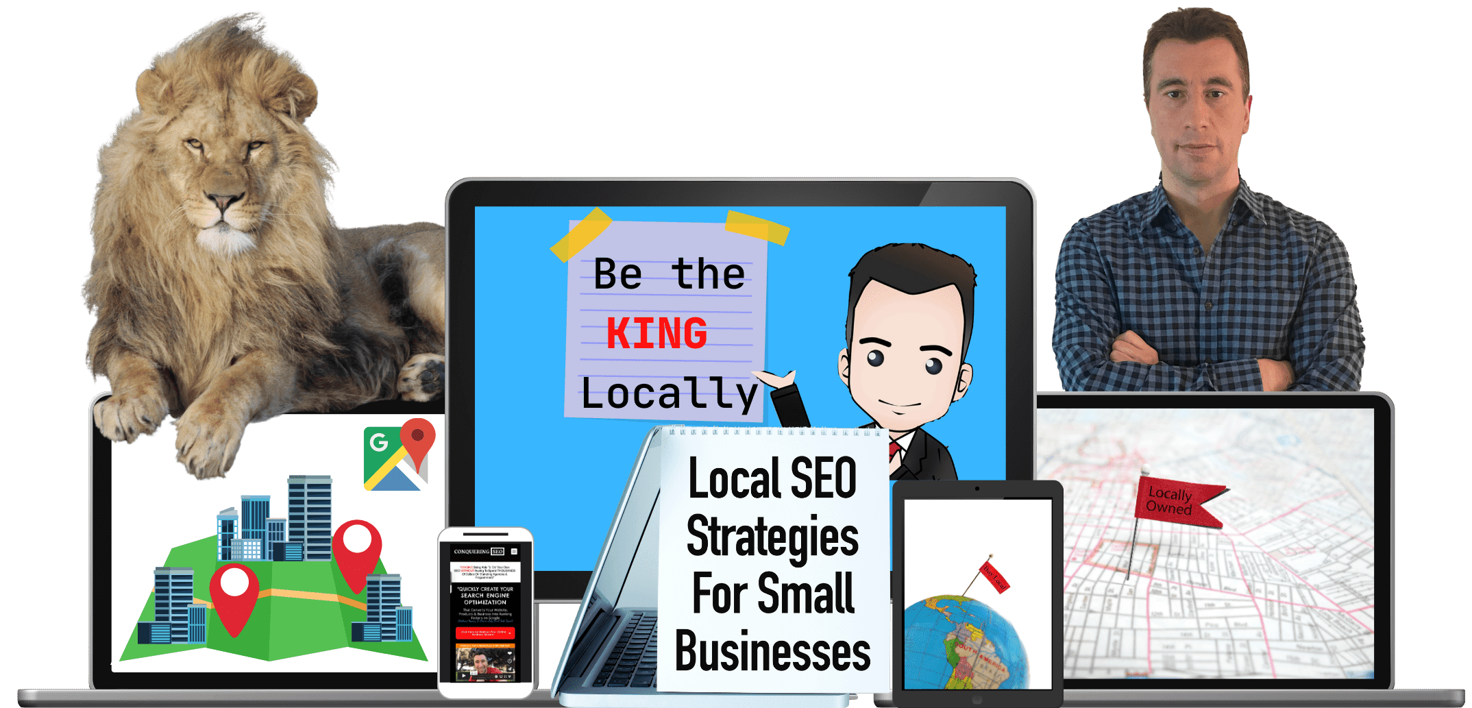 picture of the local seo domination banner