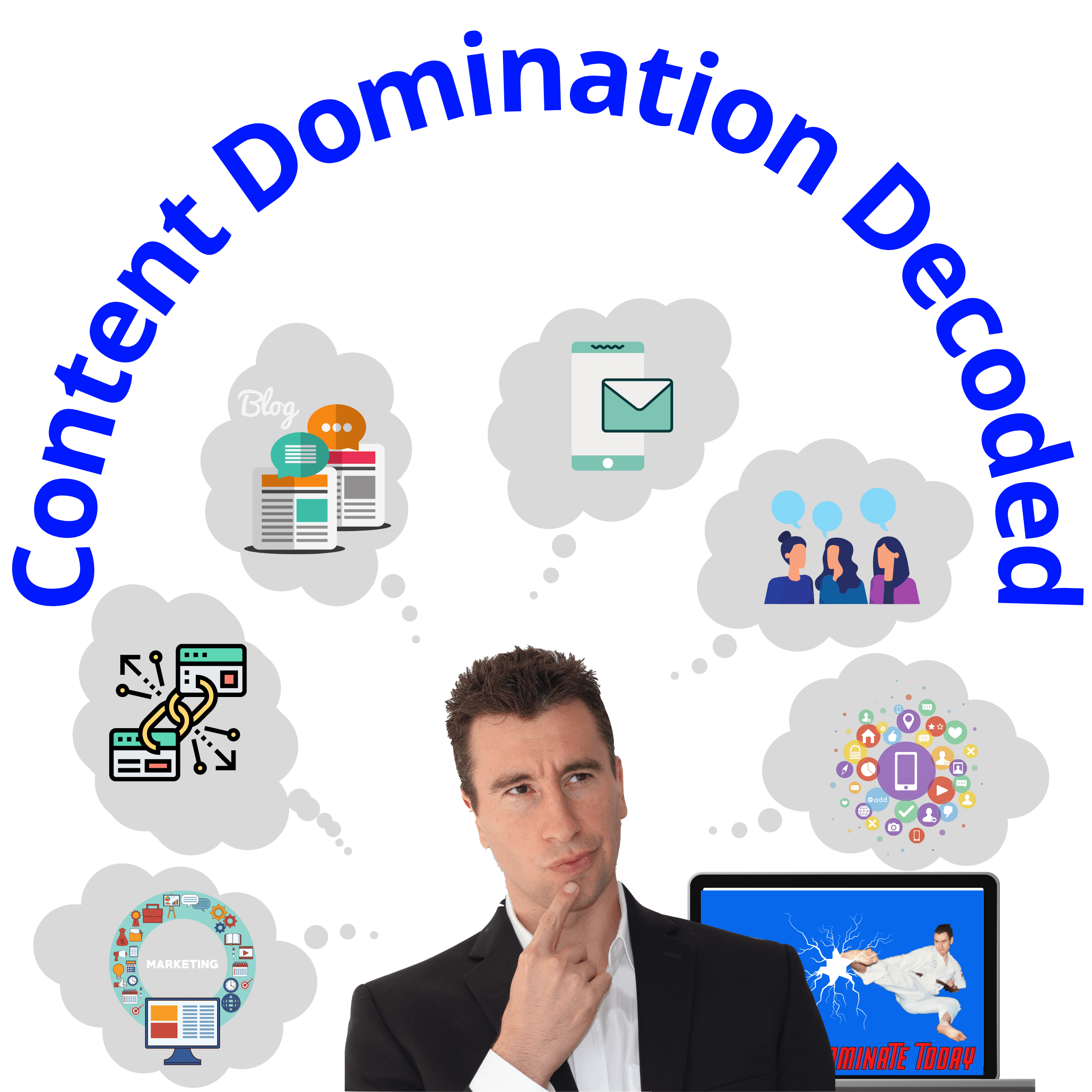 picture of the content domination masterclass product image