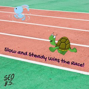 picture of Slow and Steady Wins the Race instagram